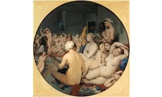 Ingres--Le-Bain-turc-1862--paris--musee-du-Louvre