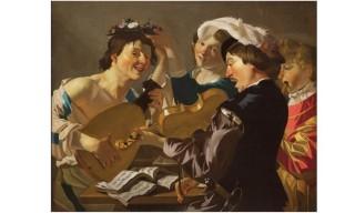 Dirck-van-Baburen-tableau-le-concert