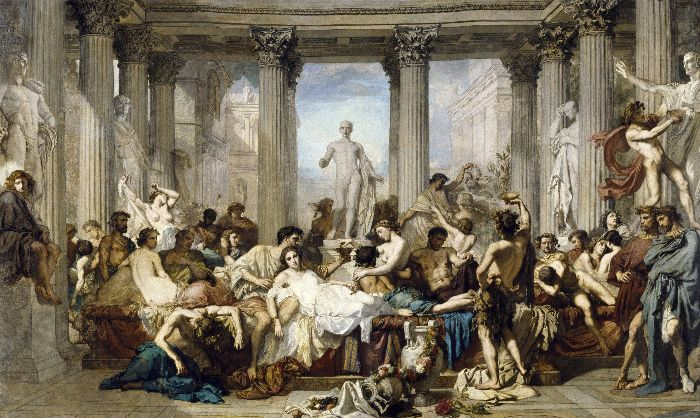 Thomas Couture : la décadence chez les Romains, analyses et détails