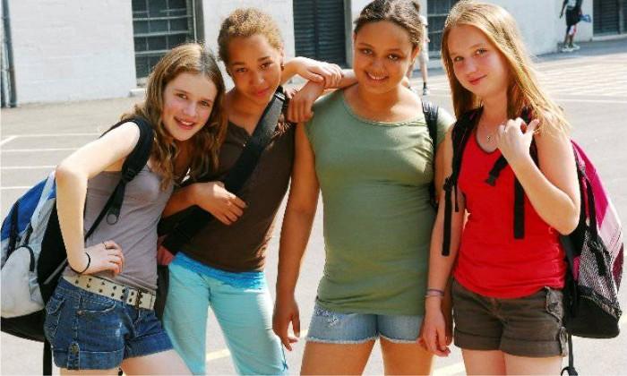 photo puberté fille