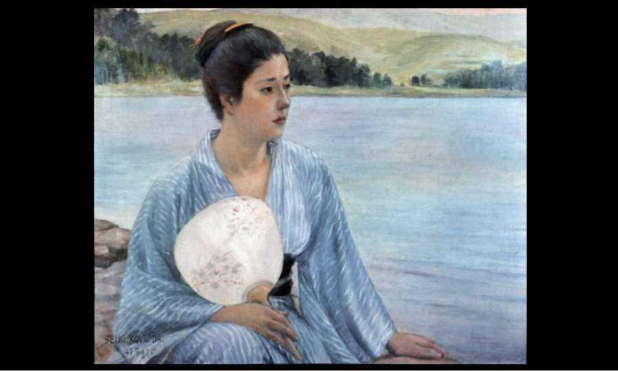 Peintre impressionniste japonais : Kuroda Seiki
