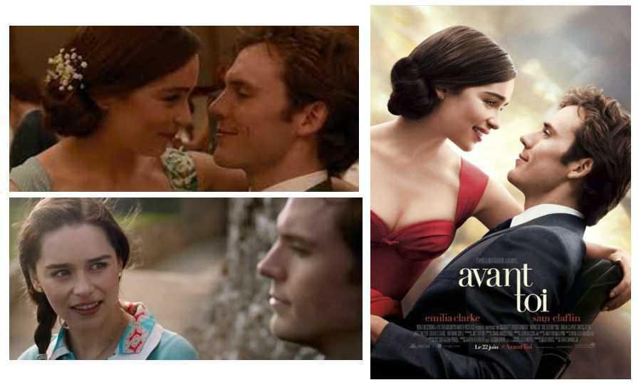 Avant toi, film romance à partir d'un best seller anglais