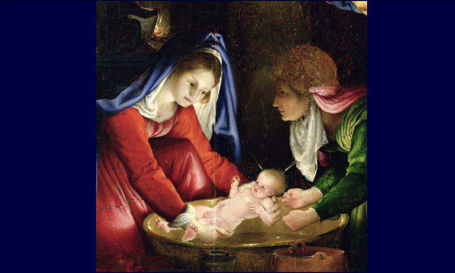 The Nativity Lotto Lorenzo