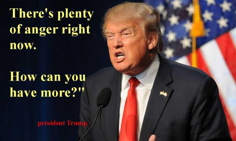 Hommes blancs en colère votent Trump