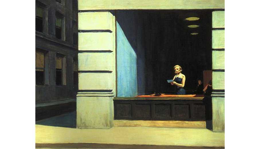 Hopper bureau a New York