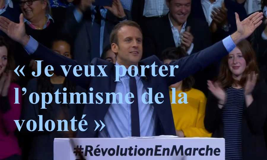 macron optimiste