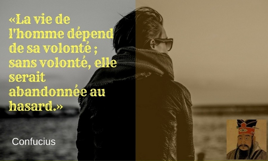 citation volonte Confucius