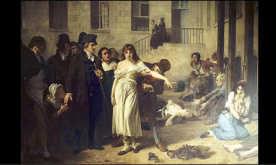 Histoire d'un tableau : Pinel délivre les aliénés
