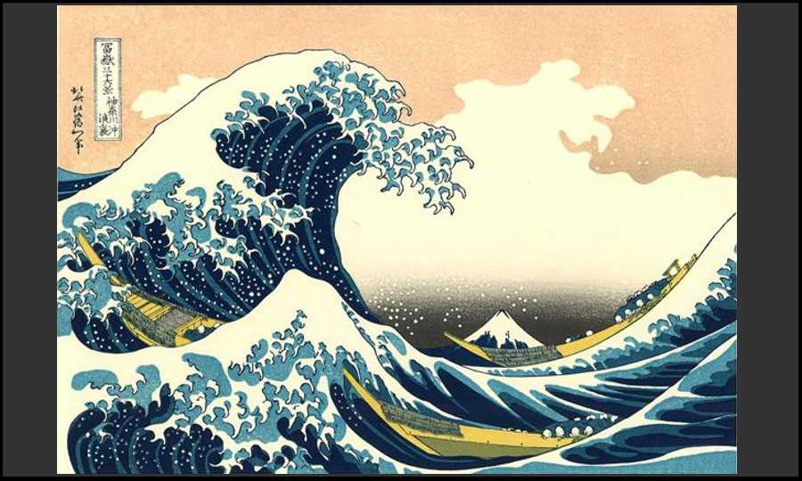 estampe japon hokusai