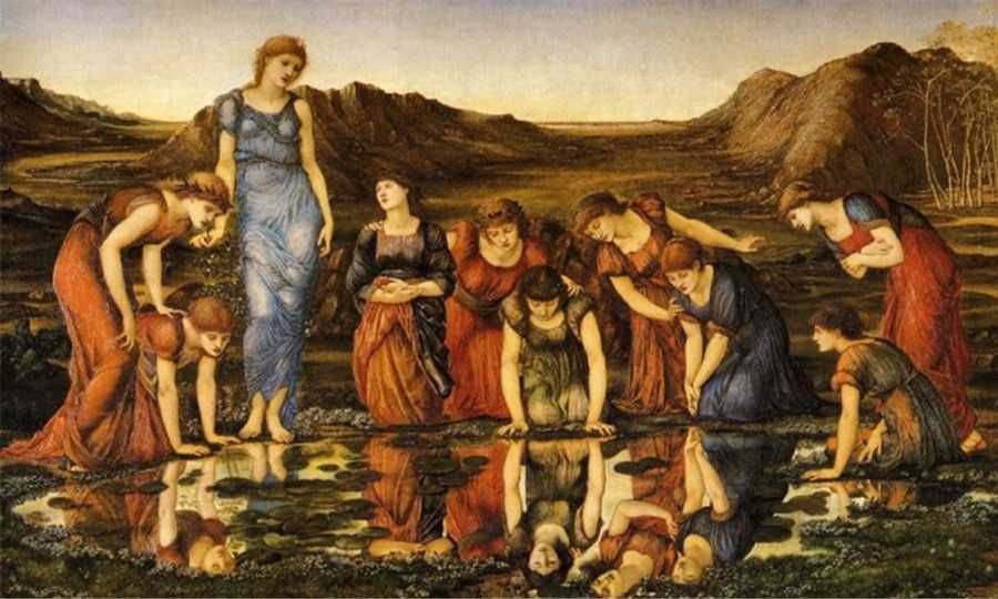 narcissisme venus Burne Jones