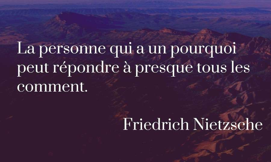 citation sens de la vie nietzsche
