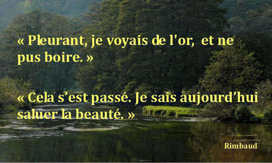 rimbaud citation
