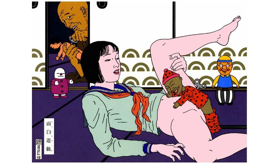 Toshio Saeki, virtuose des dessins et des estampes érotiques