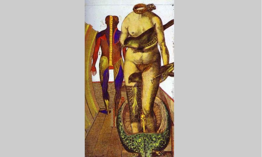 Max Ernst, le tableau Femme oiseau
