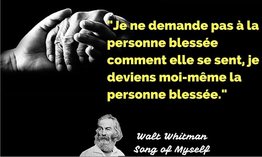 citation whitman empathie