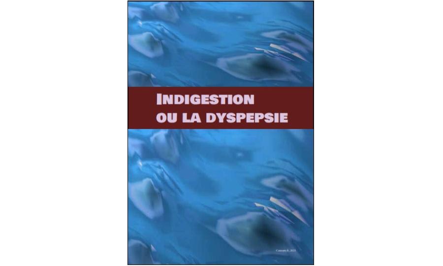 Dyspepsie ou indigestion